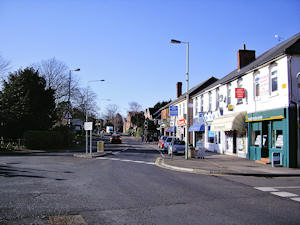 The shops in London Road