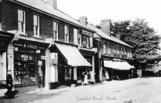 Shops in London Road