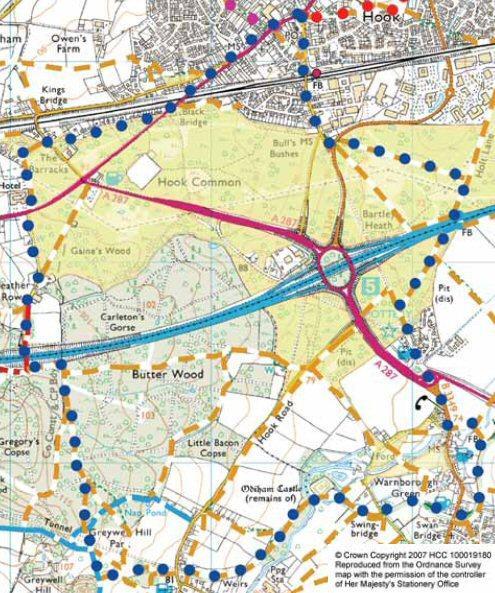 Walk C Map