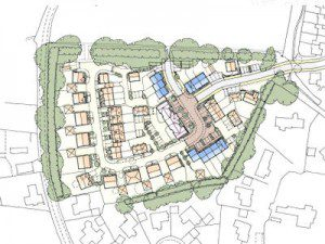 Plan for housing development