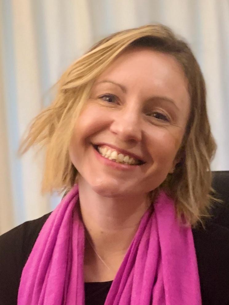 Photo of Staff member Sarah McMeeken. Environment and Community (E&C) Administrator