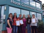 Hook Scoops Five Awards In The Hampshire & Isle Of Wight Village Of The Year Competition